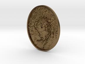 Hurricane Eye Pendant in Natural Bronze