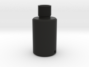 Thread Adapter (Without Sight) in Black Strong & Flexible