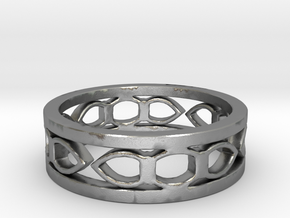 Medieval ring Ring Size 6 1/2 in Natural Silver
