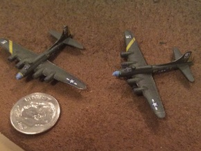 1:700 Scale B-17F Flying Fortress (4x) in Smooth Fine Detail Plastic