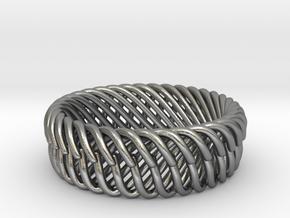 Bracelets in Natural Silver