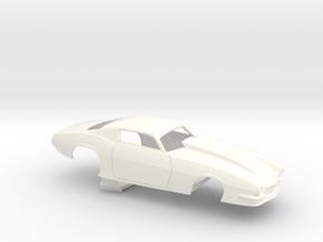 1/32 Pro Mod Camaro Cowl Hood in White Processed Versatile Plastic