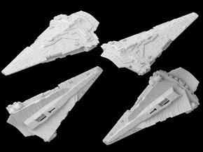 (Armada) Nebula Star Destroyer in White Strong & Flexible