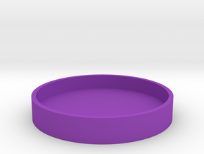 Okito Box Lid USA Quarter in Purple Processed Versatile Plastic