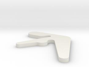 Aphex in White Natural Versatile Plastic