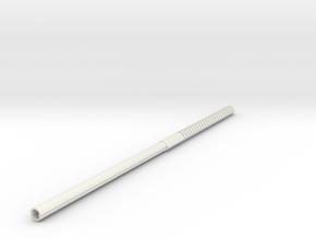 Robot Long-3Dprint-70mm in White Strong & Flexible