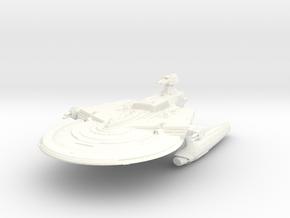 """Soyuz Class Refit IV  7.3"""" in White Processed Versatile Plastic"""