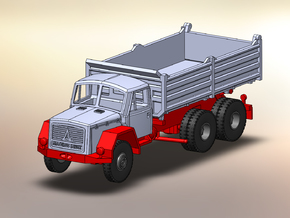 Magirus Saturn Eckhauber Kipper 1:120 in Frosted Ultra Detail