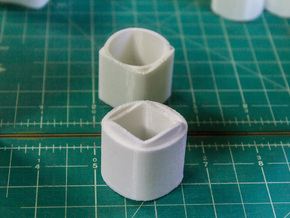 Ambiguous Cylinders : Nesting Cylinders in White Strong & Flexible