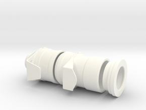 1.5 TURBINE AIR ENTRY LAMA SA315B in White Strong & Flexible Polished