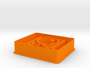Drums Cookie Cutter - Cortante Batería in Orange Processed Versatile Plastic