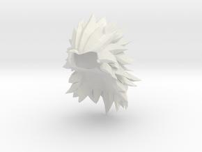 Custom Goku SSj3 (XV) Inspired for Lego in White Natural Versatile Plastic
