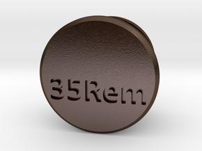 35Rem Mag Tube Plug in Polished Bronze Steel
