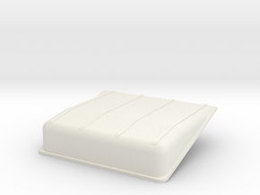 Coffre-batterie-up in White Natural Versatile Plastic