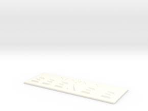 EBENE E in White Processed Versatile Plastic