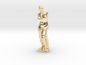 Venus de Milo in 14K Yellow Gold