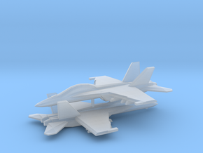1/350 F/A-18F Super Hornet (x2) in Smooth Fine Detail Plastic