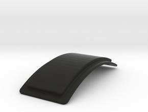 TFA Pilot Shoulder Strap Base Curved in Black Natural Versatile Plastic
