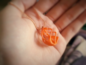 Peace Ascendant - 20mm in Orange Strong & Flexible Polished