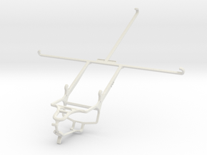 Controller mount for PS4 & Dell Venue 10 7000 in White Natural Versatile Plastic