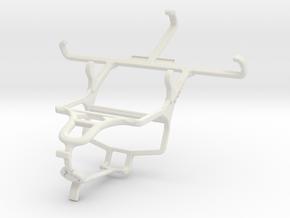 Controller mount for PS4 & NIU Niutek 4.0D in White Natural Versatile Plastic
