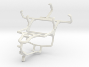 Controller mount for PS4 & Nokia 130 in White Natural Versatile Plastic