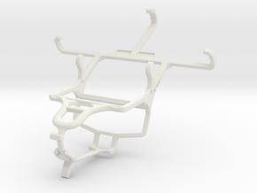 Controller mount for PS4 & NIU Tek 4D2 in White Natural Versatile Plastic