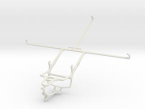 Controller mount for PS4 & Prestigio MultiPad 4 Qu in White Natural Versatile Plastic