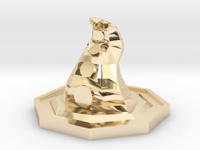 Eldritch token in 14k Gold Plated Brass
