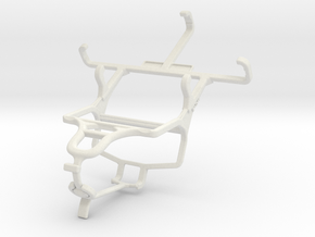 Controller mount for PS4 & Samsung Galaxy Star Tri in White Natural Versatile Plastic