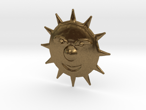 Mischevious Sun in Raw Bronze