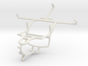 Controller mount for PS4 & Spice Stellar 520n (Mi- in White Natural Versatile Plastic