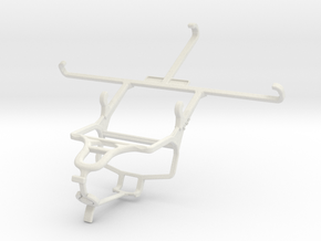 Controller mount for PS4 & Vodafone Smart 4 max in White Natural Versatile Plastic