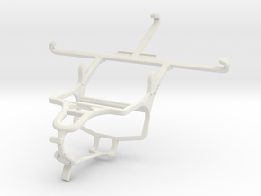 Controller mount for PS4 & Wiko Highway Pure 4G in White Natural Versatile Plastic