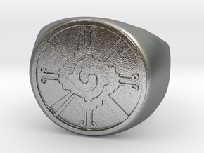 Hunab-ku in Natural Silver