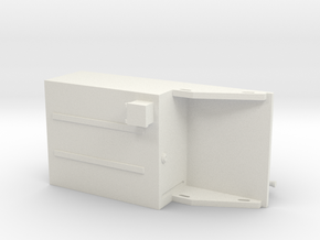 1/34th 300 GPM Fire Skid Unit in White Natural Versatile Plastic