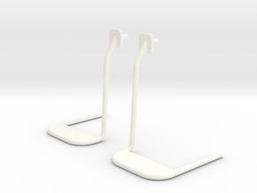 1.5 EC155 STEPS X2 in White Processed Versatile Plastic