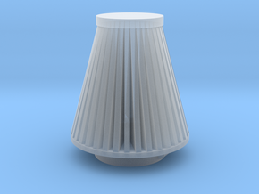 Cone Air Filter 1/12 in Smooth Fine Detail Plastic