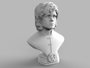 Tyrion Mini Bust in White Natural Versatile Plastic