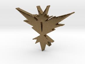Team Instinct - Pokemon Go in Natural Bronze