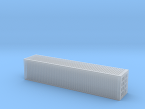 1/250 scale 40 feet Container in Smooth Fine Detail Plastic