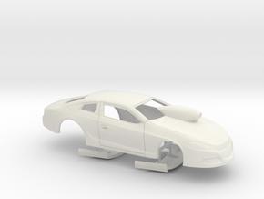 1/12 2014 Dodge Dart Pro Stock in White Strong & Flexible