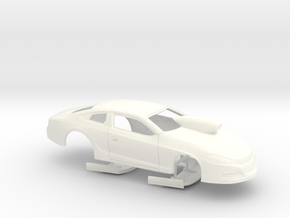 1/25 2014 Dodge Dart Pro Stock in White Strong & Flexible Polished