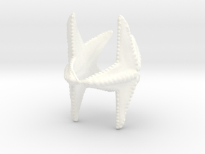 Starfish napkin holder in White Processed Versatile Plastic