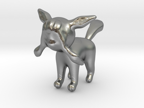 Glaceon in Natural Silver