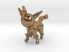 Leafeon in Natural Brass