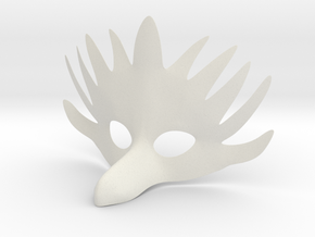 Splicer Mask Bird Womens Size (Alpha Version) in White Natural Versatile Plastic