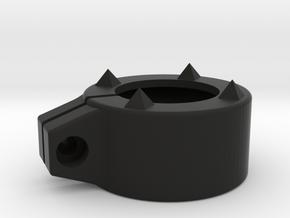 Glass Breaker. Diameter 37mm in Black Natural Versatile Plastic