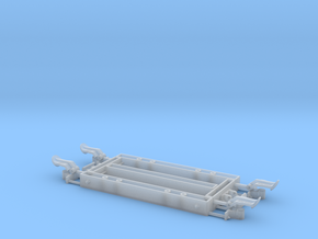 1:24 Heywood Wagon Frame w/ Light Axleboxes in Smooth Fine Detail Plastic