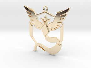 Pokemon GO: Team Mystic Pendant in 14K Yellow Gold